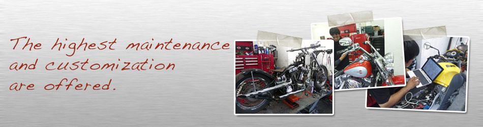 バイク メンテナンスサービス